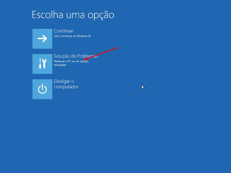 Consertar 'No bootable device' no Windows 10 3