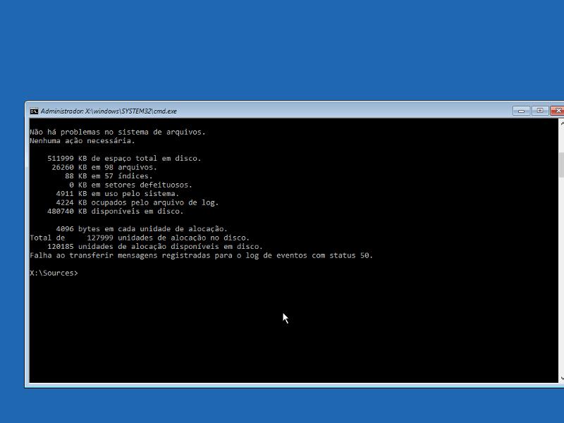 Consertar 'No bootable device' no Windows 10 11