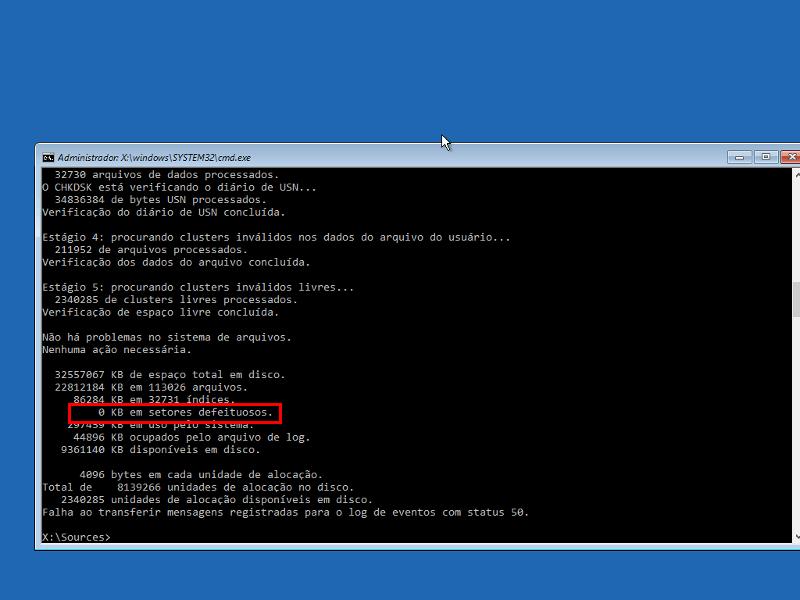 Consertar 'No bootable device' no Windows 10 13