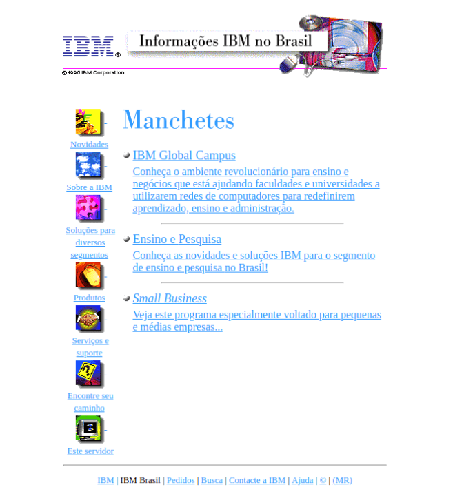 IBM em novembro de 1996