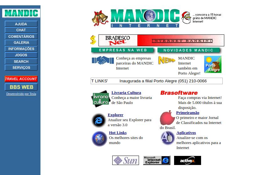 30 anos de WWW - Veja 20 sites da década de 90 e 2000 2