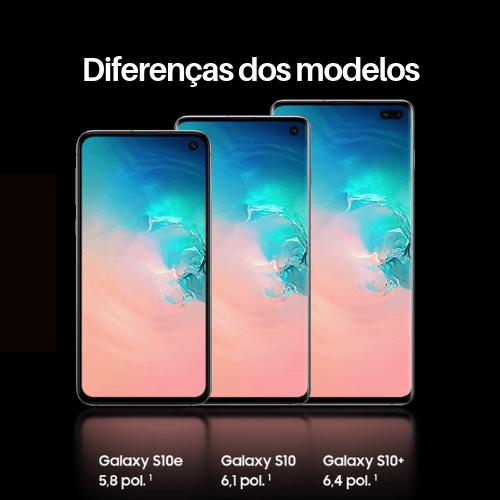 Samsung Galaxy S10 - Diferenças dos modelos