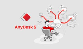 Novidades do Anydesk versão 5