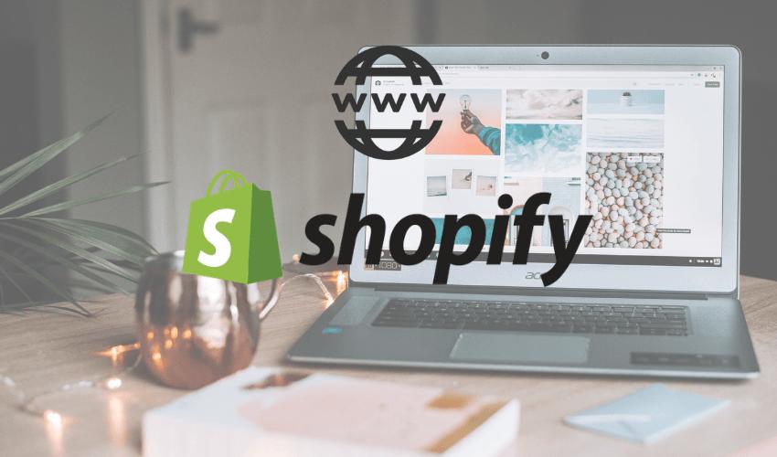 Domínio personalizado em loja Shopify