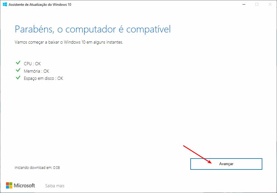 Como obter a atualização de maio/2019 do Windows 10 4