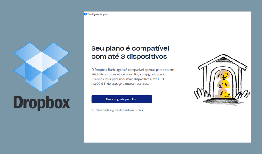 Dropbox 3 dispositivos