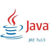 Java JRE 7u13 1