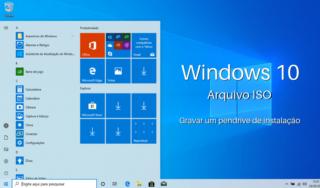 Baixar Windows 10 e gravar em pendrive