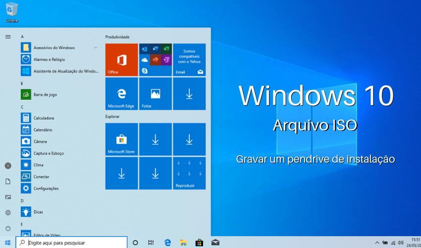 Baixar Windows 10 ISO