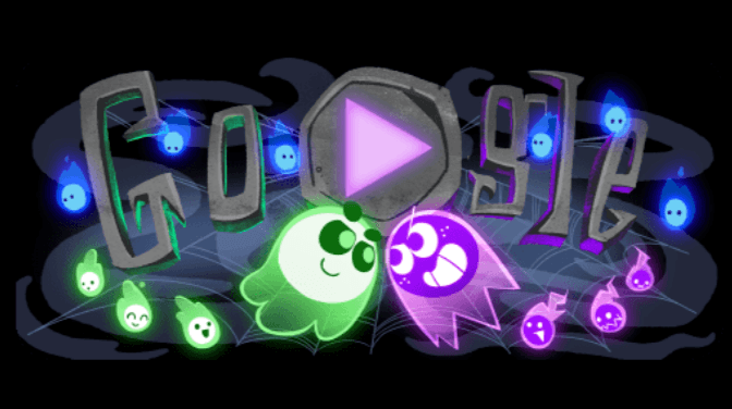Jogos do Google - Happy Halloween