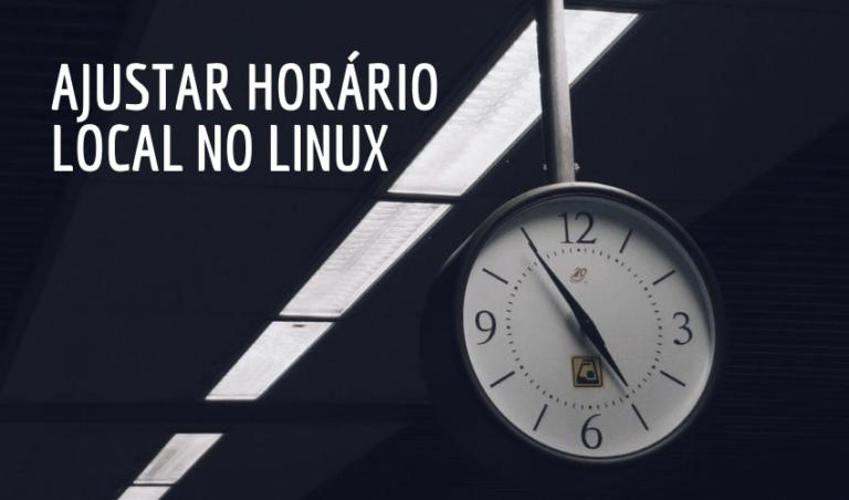 Ajustar fuso-horário no Linux 2