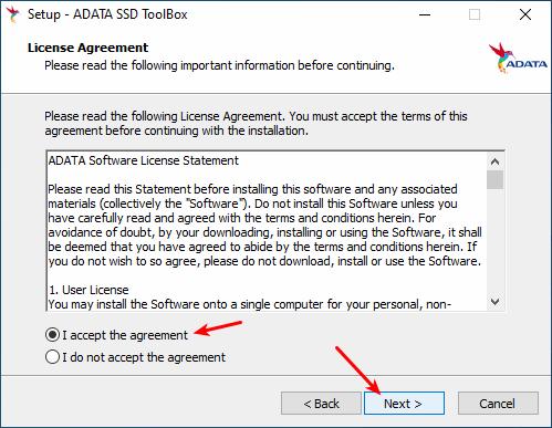 Instalação do Adata SSD Toolbox - Parte 2