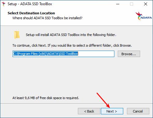 Instalação do Adata SSD Toolbox - Parte 3
