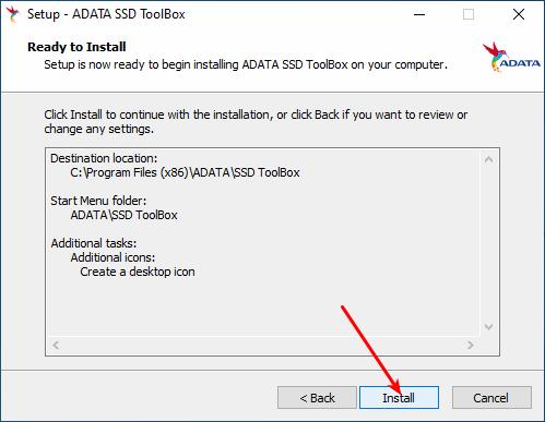 Instalação do Adata SSD Toolbox - Parte 6