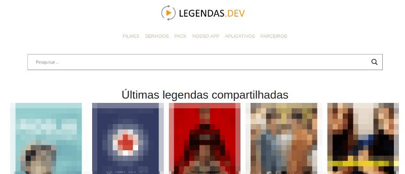 Site Legendas.dev