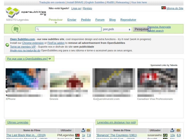 Site opensibtitles