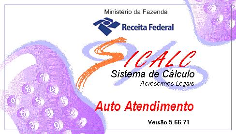 Versão do SICALC